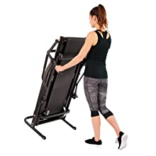 EFITMENT Adjustable Incline Magnetic Manual Treadmill w/Pulse Monitor 24