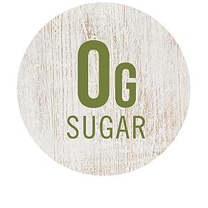 0g Sugar