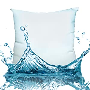 pillow in water