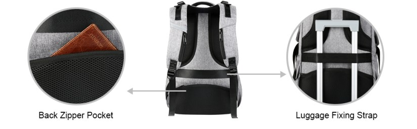 travel backpack for men women