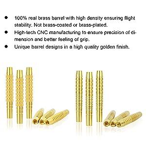 100% real brass barrel
