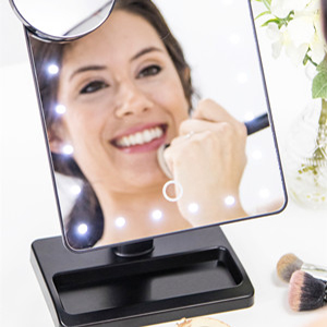 Brighter Than The Typical LED Mirror