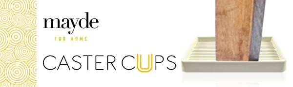 caster cups