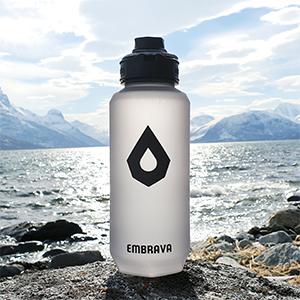 camping water bottle hiking big large 1.5 liter