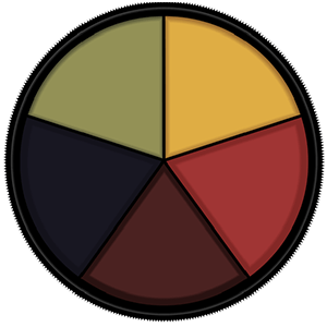 Mehron Makeup Bruise Wheel
