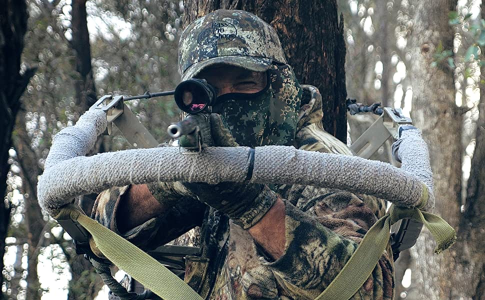 Image of hunting from a tree stand