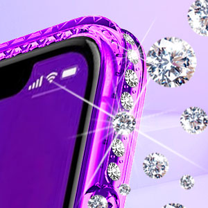 NageBee Galaxy S9 Glitter Liquid Case