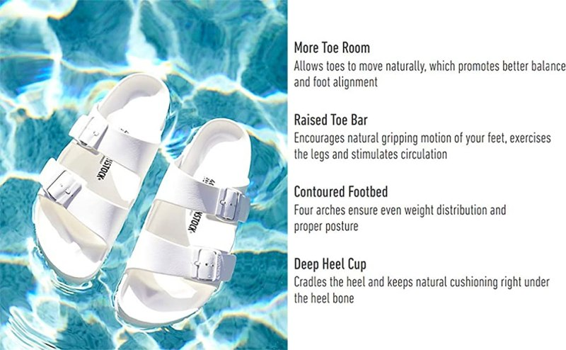 Floating Sandals with Features