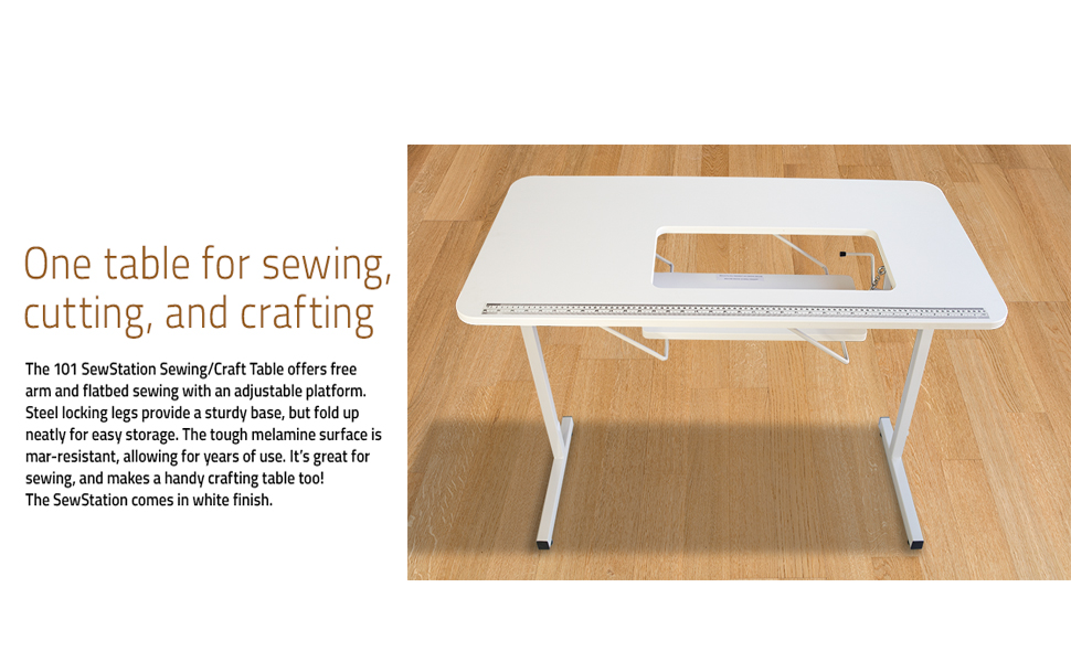portable sewing table