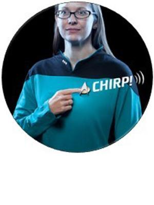 massive audio fametek combadge communicator badge bluetooth speaker star trek kirk spock dr