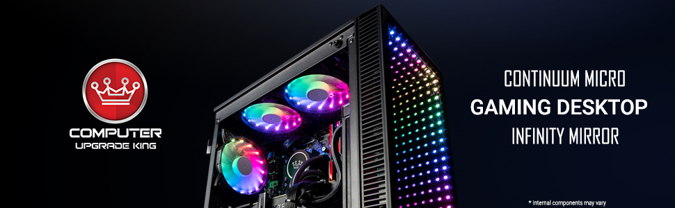 custom pc desktop gaming cuk micro continuum infinity rgb micro amd nvidia rtx ryzen 2070