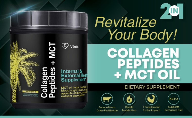 collagen peptides and mct supplement