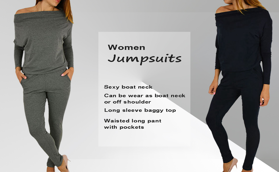 off shoulder jumpsuits for women sexy