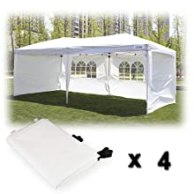 canopy come with 4 sidewalls