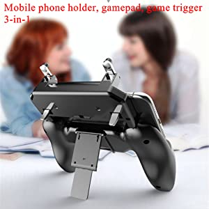 Multi-function mobile phone holder