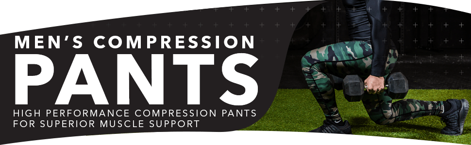 mens compression pants tights