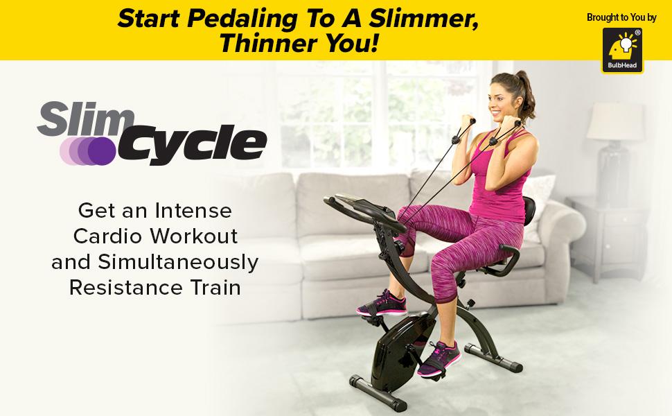 slim cycle exercise bike