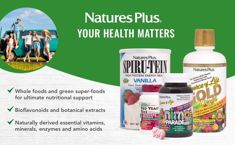 Your Health Matter. Whole foods and green super foods for ultimate nutritional support.