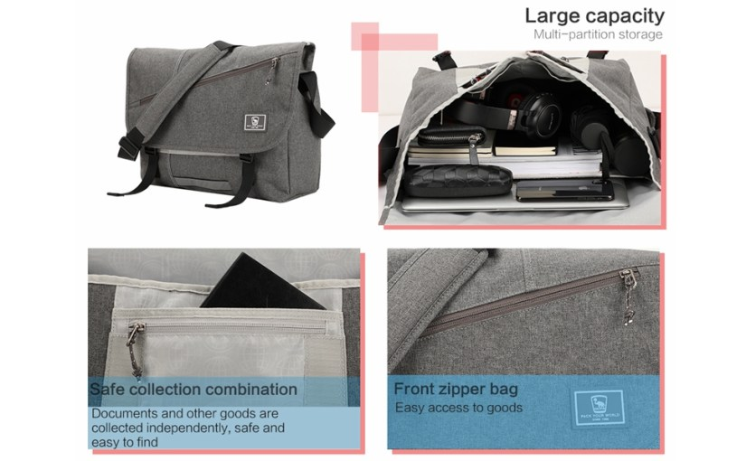 Messenger Bag Detail