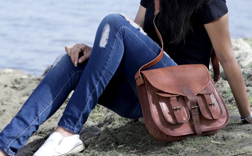 ladies leather bag purse satchel shoulder bag