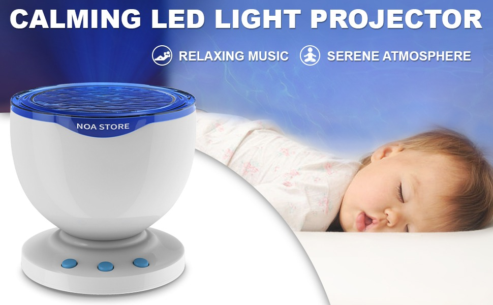 speaker with wave light