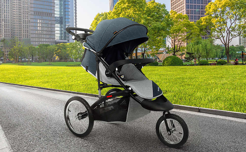 view Carrinho para Crianças Especiais Besrey Jogger Stroller Sport Strollers Jogging Pushchair 596f18d3 b8fc 4a6d b2fb 09d8bbf2b4d2
