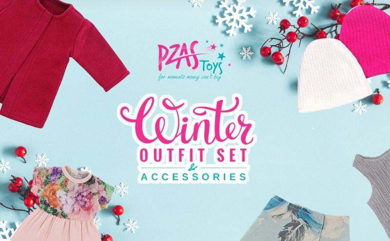 doll clothing winter set