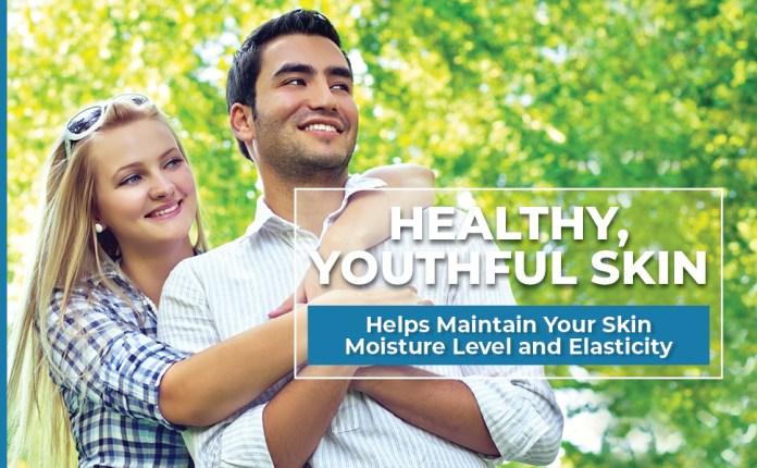 healthy skin supplement collagen peptides for moisture skin