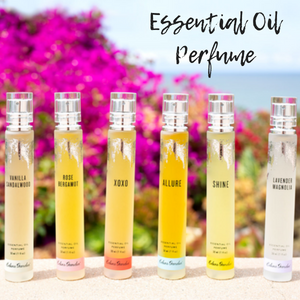 natural essential oil perfume
