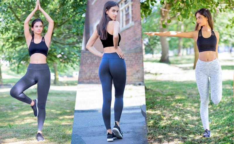 yoga pants workout sport women running leggings non see through gym pants for women