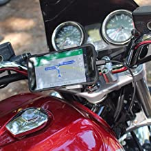 motorcycle usb charger gps charger