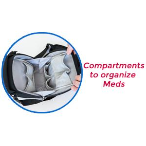 PracMedic Bags T-MEDS Bag- medicine organizer