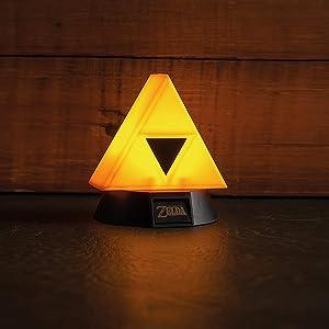 Paladone, Legend of Zelda, Link, Triforce, light, night light, desk