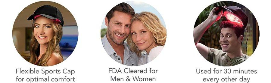 FDA cancelou o crescimento do cabelo
