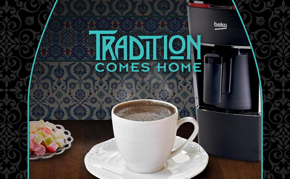 Beko Turkish Coffee Machine tradition comes home