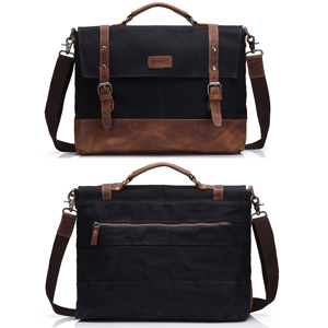 shoulder messenger laptop bag for business men women
