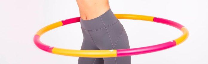 hula hoop hooping exercise burn calories slim tone core workout