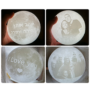 customized moon lamp personalized moon lamp custom gifts for women  custom gifts for daughter
