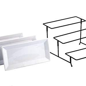 tier serving tray