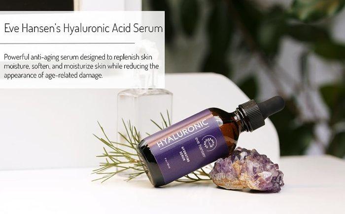 hyaluronic acid serum dark place corrector anti-aging serum attention serum for face truskin naturals