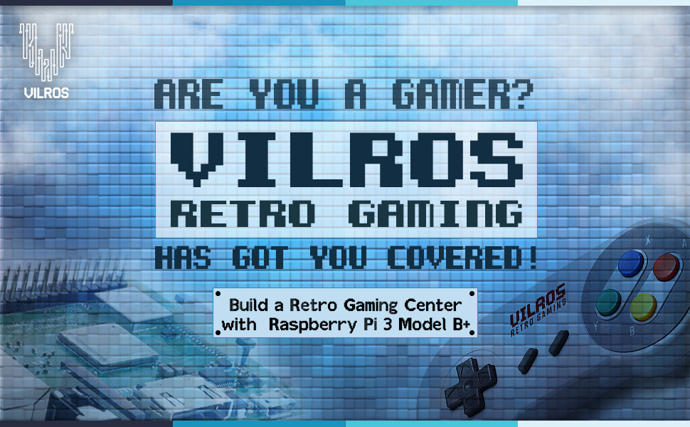 Vilros, Retro, Raspberry pi, Gaming