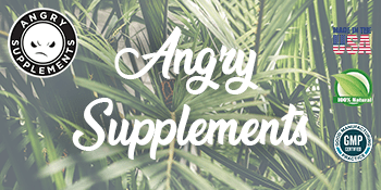 ANGRY SUPPLEMENTS LOGO MADE IN THE USA ALL NATURAL GMP