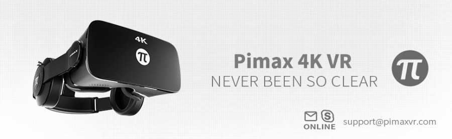 PIMAX 4K, 4K VR, VR 4K, 3D VR GLASSES, VR HEADSET, VR GOGGLE, PC VR, UHD, 3840*2160 RESOLUTION