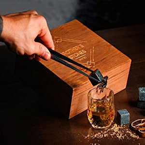 whiskey gift set, box, present, best whisky rocks,