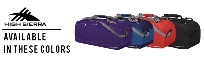 backpacking travel hi highsierra siera carry carryon on luggage men women waterproof water resistant