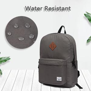 water resistant schoolbag