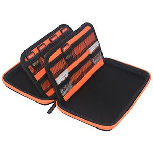 3DS Game Storage Case - Orange