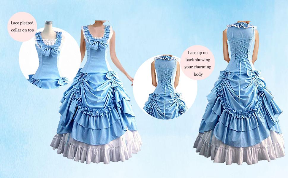 the blue Lolita dress for women