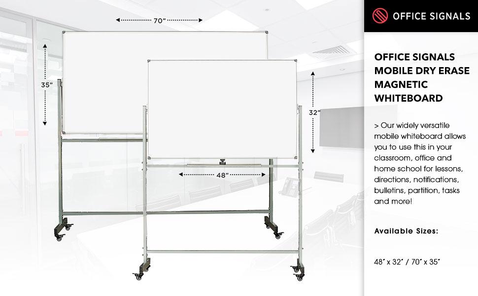 whiteboard, rolling whiteboard, mobile whiteboard