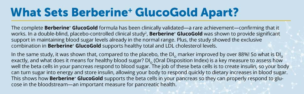 What Sets Berberine+ GlucoGold Apart?